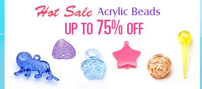 Hot Sale Acrylic Beads UP TO 75% OFF