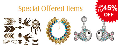 Special Offered Items UP TO 45% OFF
