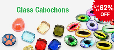 Glass Cabochons UP TO 62% OFF
