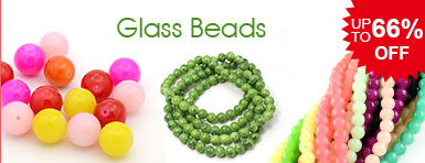 Glass Beads UP TO 66% OFF