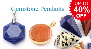 Gemstone Pendants UP TO 40% OFF