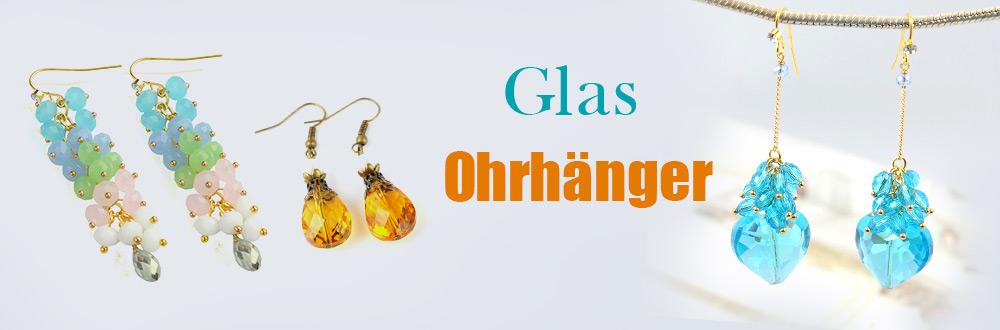 Glas Ohrhänger