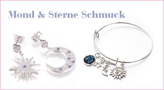 Mond & Sterne Schmuck