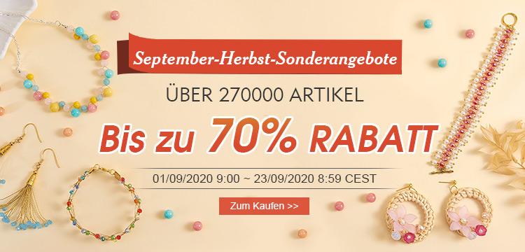 September-Herbst-Sonderangebote Über 270000 Artikel Bis zu 70% RABATT