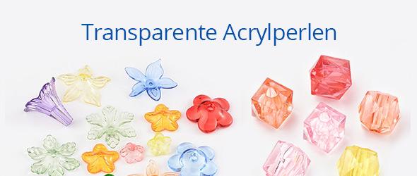 Transparente Acrylperlen