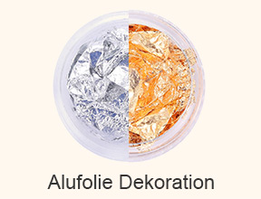 Alufolie Dekoration