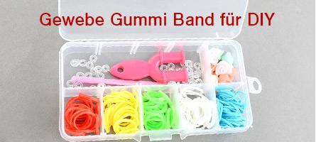 Gewebe Gummi Band für DIY