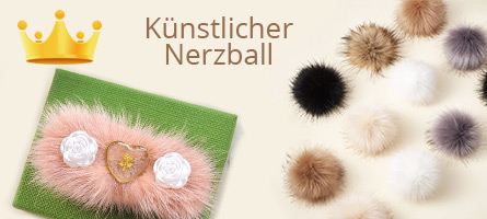 Künstlicher Nerzball