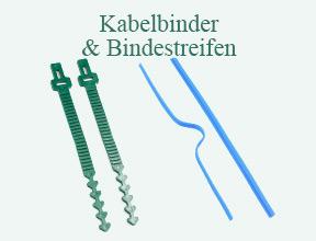 Kabelbinder & Bindestreifen