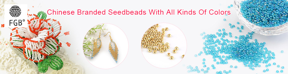 FGB Chinese Branded Seedbeads With All Kinds Of Colors