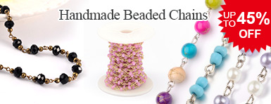 Handmade Beaded Chains UP TO 45% OFF