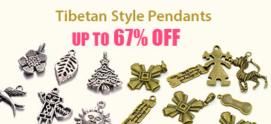 Tibetan Style Pendants UP TO 67% OFF