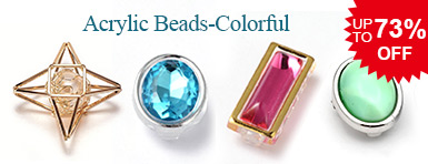 Acrylic Beads-Colorful UP TO 73% OFF