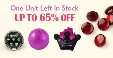 One Unit Left In Stock Up to 65% OFF