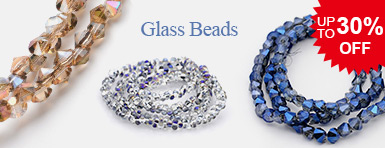 Glass Beads Up To 30% OFF