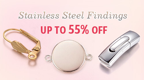 Stainless Steel Findings UP TO 55% OFF