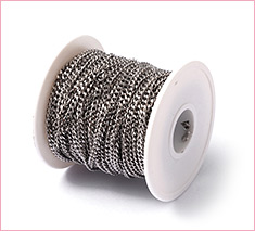 4mm Unwelded 304 Stainless Steel Curb Chains