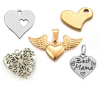 Heart Pendants
