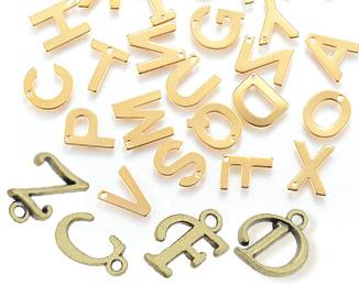 Breloques Alphabet