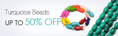 Turquoise Beads UP TO 50% OFF