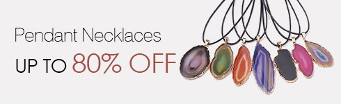 Pendant Necklaces UP TO 80% OFF