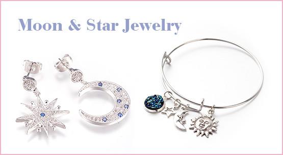 Moon & Star Jewelry