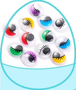 Spielzeug Augen