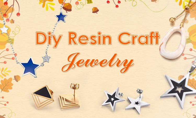 DIY Resin Craft Jewelry