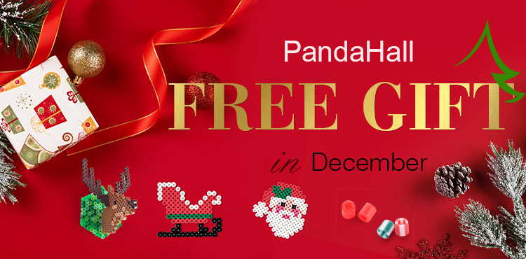 PandaHall Free Gift in December