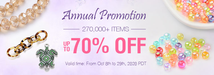 Annaul Promotion 270,000+ Items Up to 70% OFF