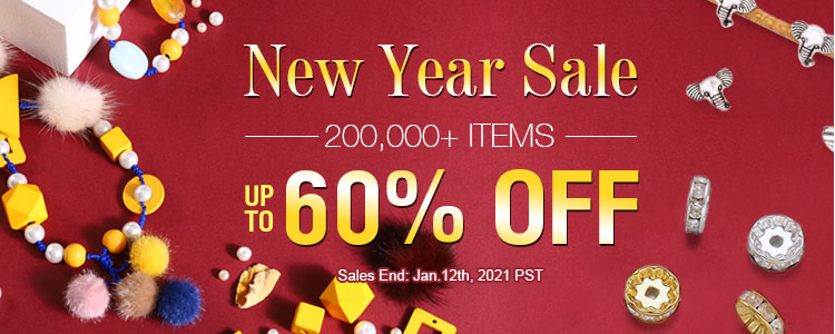 New Year Sale 200,000+ Items Up to 60% OFF