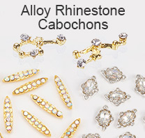 Alloy Rhinestone Cabochons