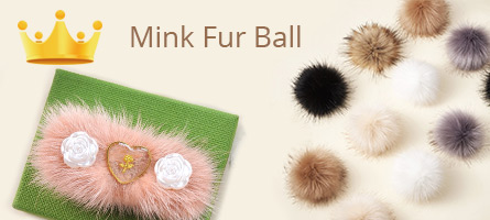 Mink Fur Ball