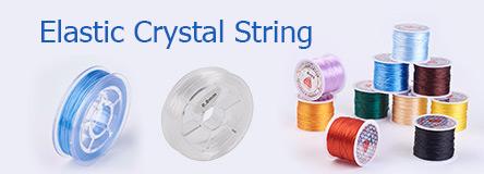 Elastic Crystal String