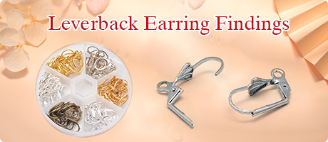 Leverback Earring Findings