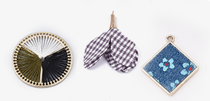 Fabric Pendants
