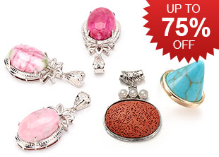 Gemstone Pendants Up To 75% OFF