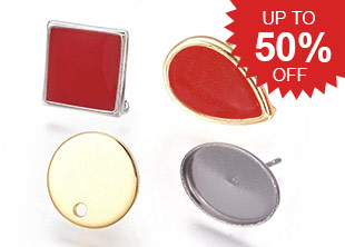 Ear Stud Components Up To 50% OFF