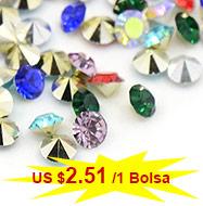 Diamante de imitación Resina