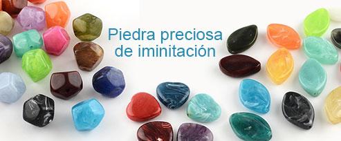 Piedra preciosa de iminitación