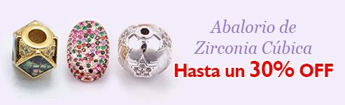 Abalorio de Zirconia Cúbica