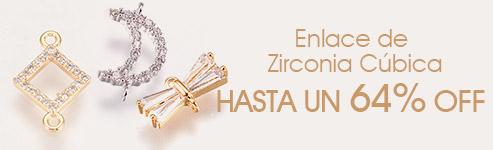 Enlace de Zirconia Cúbica