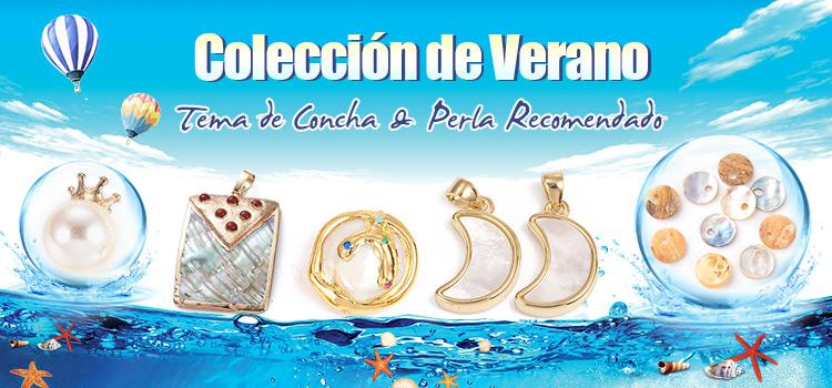 Colección de Verano Tema de Concha & Perla Recomendado