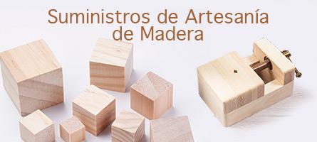 Suministros de Artesanía de Madera