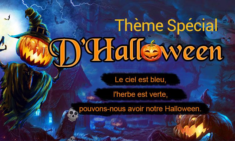 Thème Spécial D'Halloween