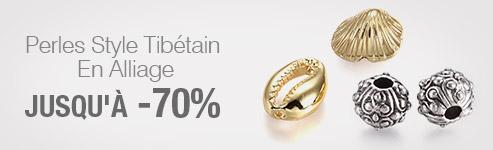 Perles Style Tibétain En Alliage Jusqu'à -70%