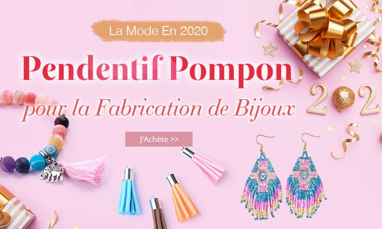 La Mode En 2020 Pendentif Pompon pour la Fabrication de Bijoux