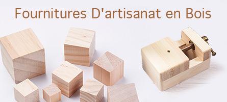Fournitures D'artisanat en Bois