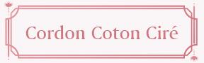 Cordon Coton Ciré