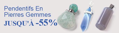 Pendentifs En Pierres Gemmes Jusqu'à -55%